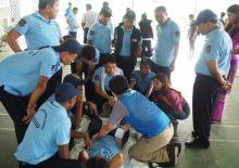 미얀마 보건소 완공식 및 응급구조교육