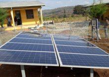 에티오피아 모자보건 증진사업 보건소 태양열 패널 설치