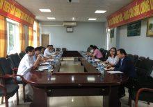 베트남 라이짜우성 종합병원 모니터링 출장