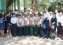 미얀마 보건소 및 학교 모니터링 방문